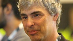 Google-Mitgründer Larry Page. Foto:Christoph Dernbach