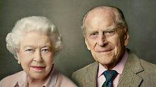 """""""Man wird halt alt"""": Prinz Philip - die große Stütze der Queen"""
