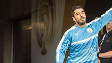 """Der """"Beißer"""" wütet am Spielfeldrand: Luis Suárez rastet bei Copa-Spiel aus"""