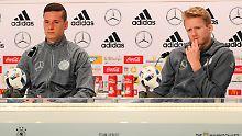 DFB-Elf übt für die EM: Löws Eleven stehen fest, haben Hand am Hebel