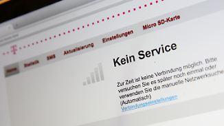 Probleme mittlerweile behoben: Telekom-Kunden haben stundenlang kein Netz