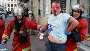 Schwere Fan-Randale in Marseille: Die hässliche Fratze der Gewalt