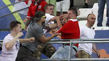 Tagelange Krawalle von Marseille: Uefa droht England und Russland mit EM-Aus