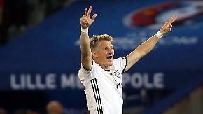 Kurz-Comeback mit Tor gegen Ukraine: Schweinsteiger legt großen Auftritt hin