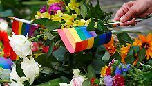 """Attentat in Schwulenclub: """"In Orlando sollte die Freiheit sterben"""""""