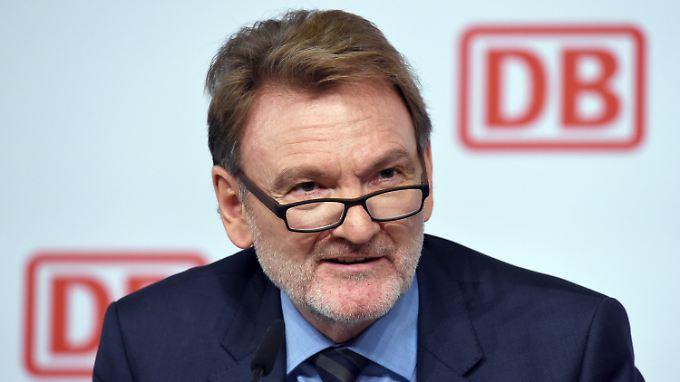 Das Ziel Bahnchef bleibt Volker Kefer verwehrt.
