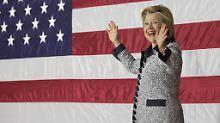 Neue Umfrage: Clinton vor Trump: Demokratin gewinnt letzte US-Vorwahl