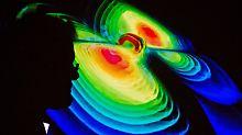 """""""Neues Zeitalter der Astronomie"""": Gravitationswellen im All gemessen"""