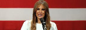 Vom Zeitungscover ins Weiße Haus: Melania Trump - the new FLOTUS?