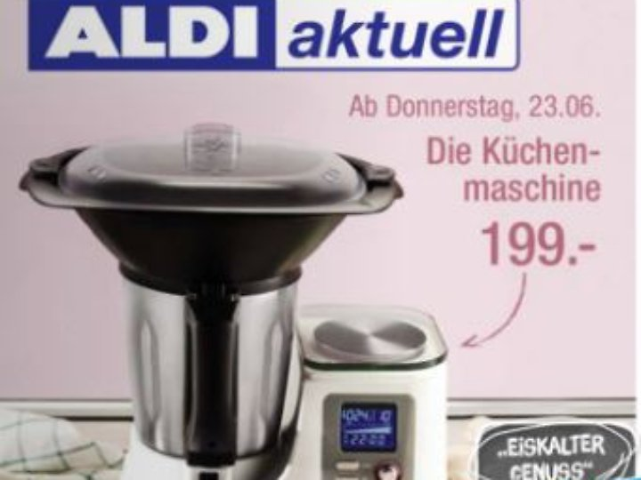 ab 23 juni bei aldi nord thermomix klon f r knapp 200 euro n. Black Bedroom Furniture Sets. Home Design Ideas