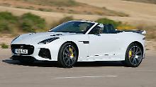 Mit dem Jaguar F-Type SVR fährt ein Sportler vor, der auch Porsche, Lamborghini und Aston Martin das Wasser reichen kann.
