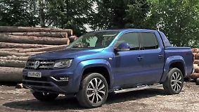 Vielseitig, familienfreundlich, komfortabel: VW Amarok nimmt SUV-Käufer ins Visier