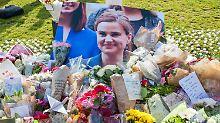 Getötete Abgeordnete Cox: Polizei konzentriert sich auf rechte Spur