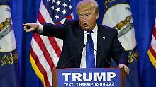 Spender halten sich zurück: Bei Trump wird das Geld knapp