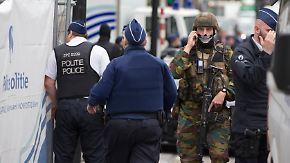 Sprengstoffgürtel aus Keksen: Brüsseler Polizei gibt nach Bombenalarm Entwarnung
