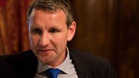 Thüringens AfD-Landesvorsitzender Björn Höcke.
