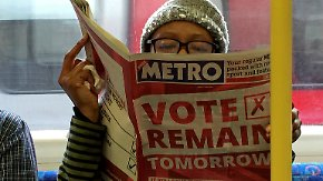 Brexit - ja oder nein?: Finanzmärkte bleiben gelassen