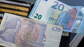 Deutsche Exportwirtschaft in Sorge: Experten: Britisches Pfund bleibt unter Druck