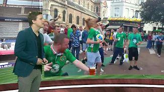 n-tv Netzreporter: Irische Fußballfans begeistern Europa