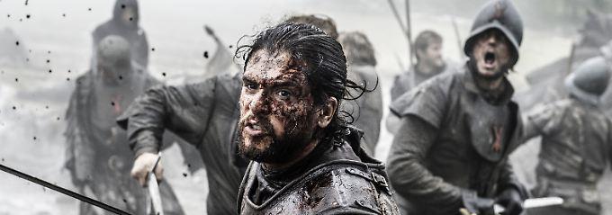 """Zu Time Warner gehört etwa der Sender HBO mit Hits wie der Serie """"Game of Thrones"""" - die Übernahme durch AT&T scheint aber weniger blutig abzulaufen."""