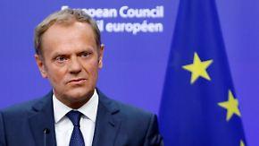 """Ratspräsident Tusk zum Brexit-Entscheid: """"Es gibt keine Möglichkeiten, alle Folgen vorherzusagen"""""""