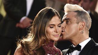 Promi-News des Tages: Ayda Field lacht über Robbies Frauengeschichten