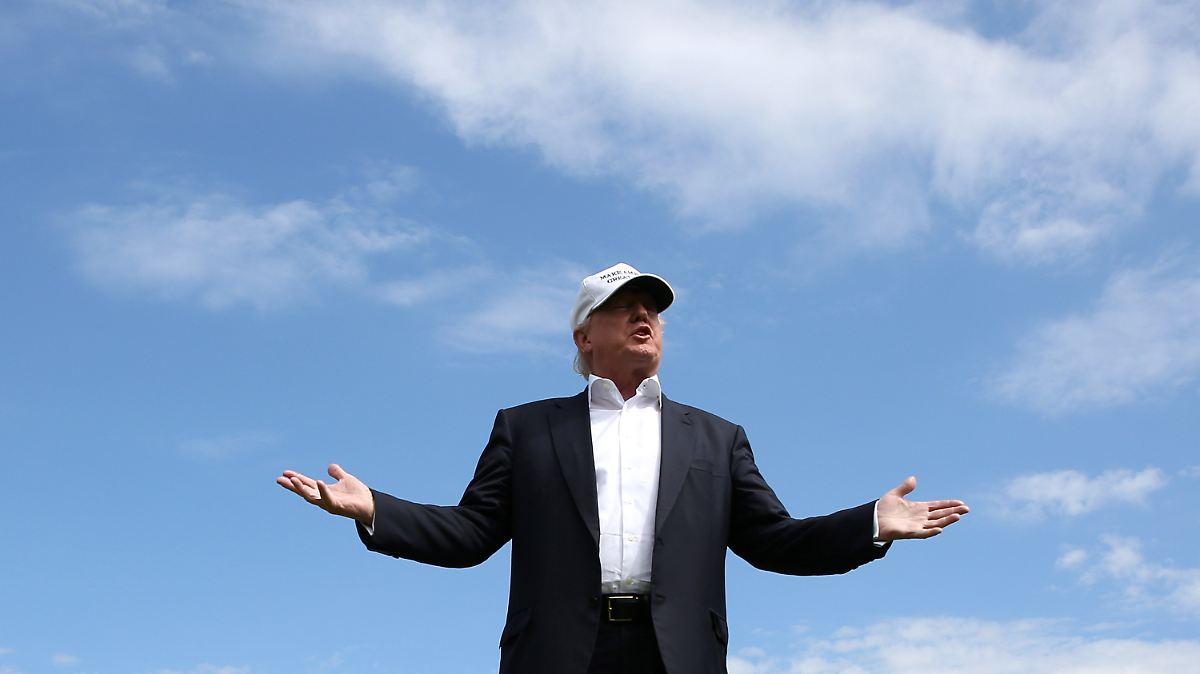 Trumps Umfragewerte fallen weiter