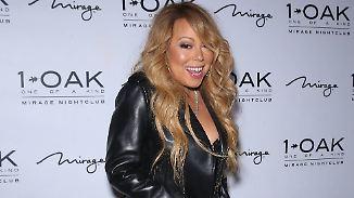 Promi-News des Tages: Mariah Carey erscheint in Strapse zum neuen Job