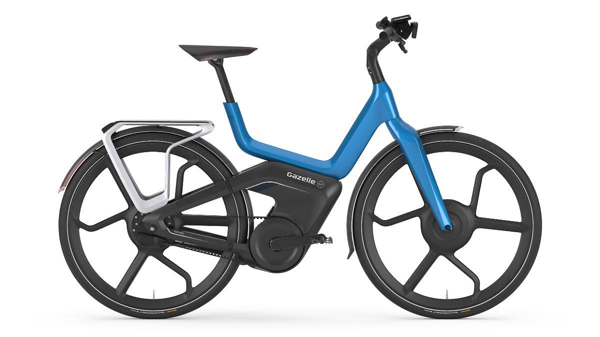 mehr als ein fahrrad mit motor gazelle baut das e bike. Black Bedroom Furniture Sets. Home Design Ideas