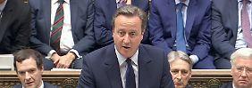 Entscheidung muss akzeptiert werden: Cameron: Abstimmung wird nicht wiederholt