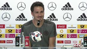"""Wichtiges aus der DFB-Pressekonferenz: """"Können uns nach dem Finale nochmal unterhalten"""""""