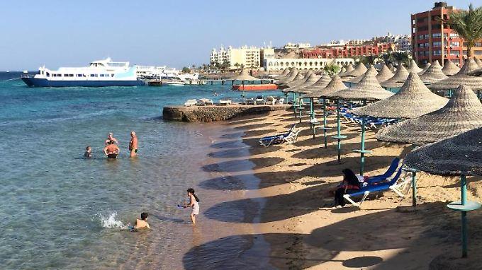So einsam wie derzeit war es in bisher Hurghada selten.