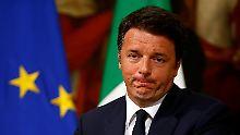 Matteo Renzi hat es versucht.