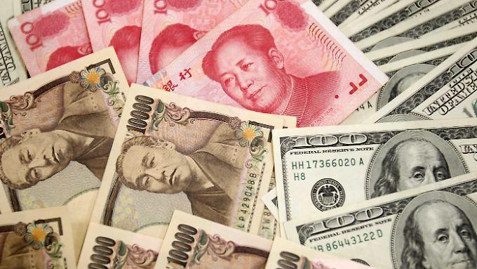 Der starke Yen bereitet der japanischen Exportindustrie Kopfschmerzen.
