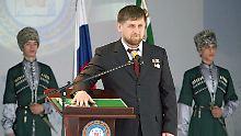 Mitarbeiter für Tschetschenien: Kadyrow sucht Verstärkung per Castingshow
