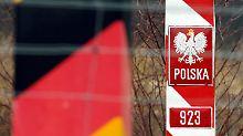 Der Tag: Polizei nimmt 40 Iraker an polnischer Grenze fest