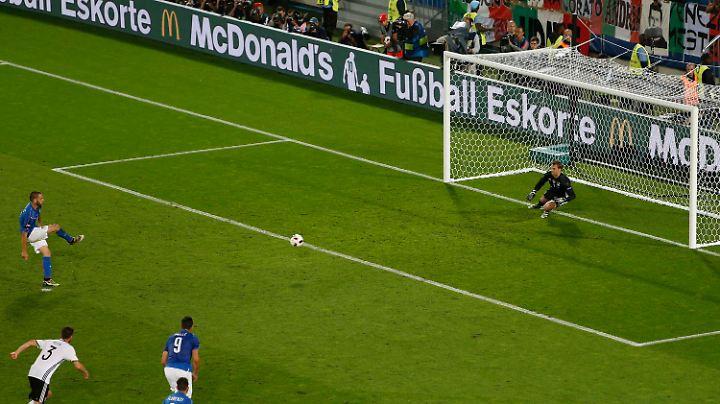 Video Elfmeterschießen Deutschland Italien