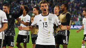 """""""Sowas habe ich noch nicht erlebt"""": Deutschland steht nach Elfmeterkrimi im Halbfinale"""