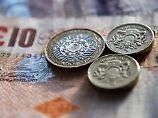 Der Börsen-Tag: Britisches Pfund gibt nach Leitzins-Entscheidung nach