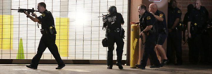 Schüsse auf Polizisten in Dallas: Die Gewaltspirale dreht sich weiter