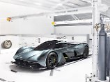 Maximal 150 Fahrzeuges des Aston Martin RB 001 sollen produziert werden.