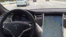 Umfrage: Was halten Sie von selbstfahrenden Autos?