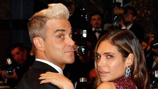 Promi-News des Tages: Ayda Field verführt Robbie Williams in Stilettos und ...