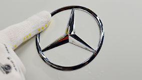 Pkw-Sparte schwächelt: V-Klasse beschert Daimler starke Zahlen