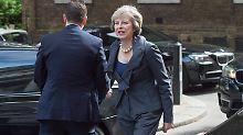 Die 59-jährige Theresa MAy wird nach Margaret Thatcher die zweite Frau an der Regierungsspitze des Landes.