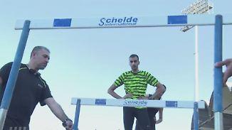 Im Stadion nahe der Front: Syrische Sportler trainieren für Olympia