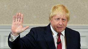 Johnson zum Außenminister ernannt: Merkel will May in Berlin empfangen