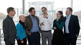 Schwabe trifft sich regelmäßig zum Austausch mit Bundestagsabgeordneten von Grünen und Linken.