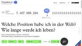 Startup News: Population.io stellt sich vor