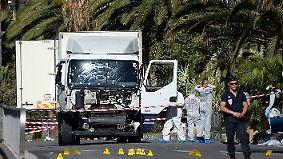 84 Tote bei Anschlag in Nizza: So verlief die tödliche Fahrt des Attentäters